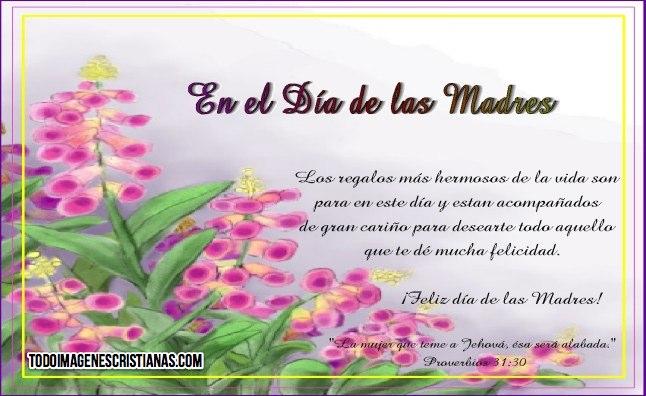 16 Imágenes De Feliz Día De La Madre Con Mensajes Cristianos